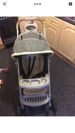 Graco push chair and car seat set