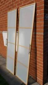 Ikea wardrobe doors...going on the skip TODAY
