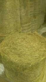 Good hay and haylage for sale.