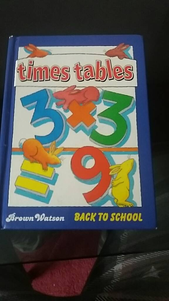 Times table book