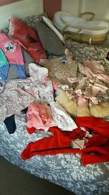 large baby girl bundle new or nearly new