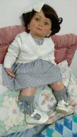 Reborn toddler doll 30""