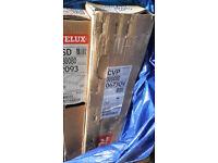 Electric Velux 0673QVA 80x80 cm flat roof window base unit and ISD 2093 flat glass.