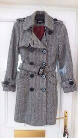 Ladies smart winter coat size 10