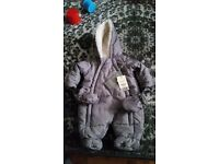 Brand New Fleece Snowsuit FIRST SIZE (up to 9lb)