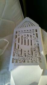 Wedding postbox birdcage