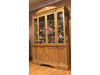 ***FOR SALE*** Side Board with glass Display Cabinet