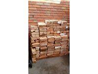 200+ reclaimed bricks