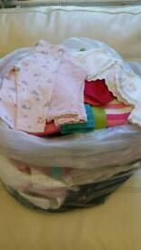 Big bag of clean baby clothes £15