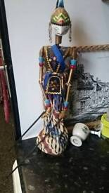 NDONESIAN STICK / ROD PUPPET DOLL - Early 1900's Very good condition