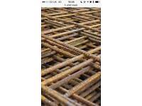 A142 concrete reinforcement mesh