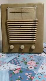 HMV portable radiogram 1953
