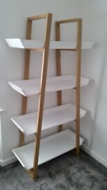 House by John Lewis Airframe Tall Bookcase, White
