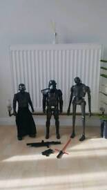Large Star wars figures