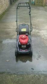 Honda roller mower 17 Inc self propelled only 10 months old in excellent condition