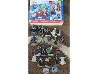 Disney infinity Marvel 2.0 starter pack with extra characters