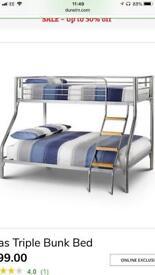 Sliver bunk bed