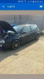 "VW GOLF 5X100 19"" ROTI FORM STYLE ALLOYS"