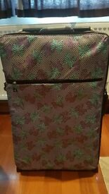 Large It Patterned Suitcase