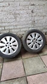 Alloy wheels vauxhall