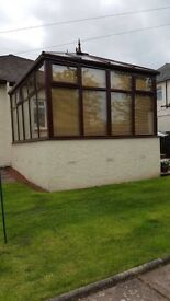 Conservatory, good condition
