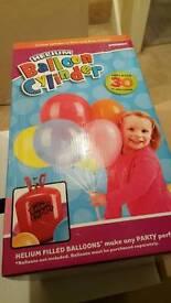 Helium balloon cylinder brand new