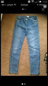Ladies jeans H&M US 10