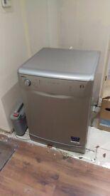 Silver beko dishwasher £50 ovno