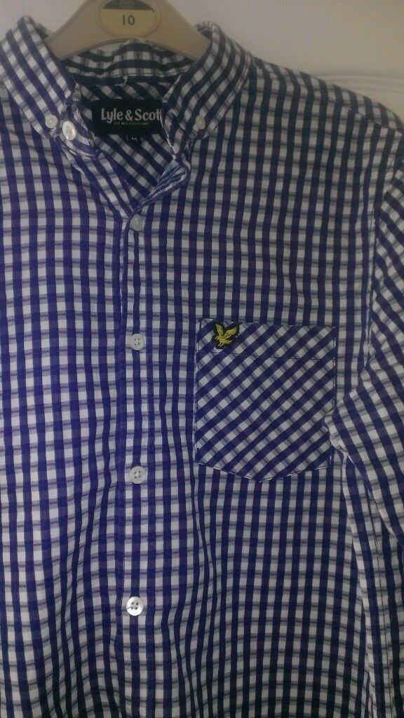 lyle and scott cheque shirt