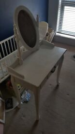 Fast Sale! White Wooden Vanity Table £25