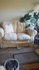 Small comfy sunshine yellow sofa.much loved but unfotunatly no konger needed