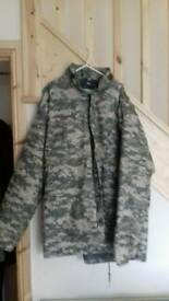 Mens Nato combat quilted removable inner lining xxl chest 53 & up
