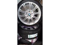 """BMW 18"""" & 19"""" ALLOYS MV1s & MV2s loads more av 16"""" 17"""" 20"""" ** OVER 3000 PARTWORN & NEW TYRES"""