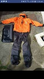 Typhoon Waterman Drysuit. Size LM. PLEASE NOTE THIS IS NOT A DIVING SUIT BUT FOR SURFACE WATERSPORTS