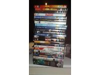 Assortment of DVD's and games