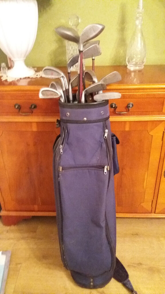 Golf clubsBagin NewportGumtree - A selection of used golf clubs & bag, ideal starter kit or practice clubs