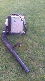Stihl br420 backpack blower.