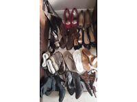 Clothes, shoes, belts, handbags, accessories etc.