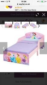 Disney Princess Toddler Bed plus mattress