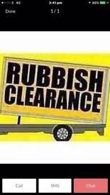 RUBBISH CLEARANCE WESTE CLEARANCE MAN AND VAN OFFICE CLEARANCE FURNITURE CLEARANCE HOUSE CLEARANCE