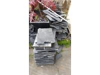 Slate Tiles (black) free to collector