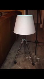 Cymbal stand lamp