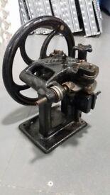 RODI Leather Skiver/Splitter Vintage Hand Crank Machine