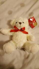 Bear soft toy. New with tags