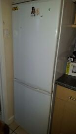 Large fridge freezer White. Good working order £40 ono buyer must collect