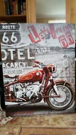 Route 66 canvas