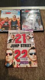 21 and 22 jump street dvds
