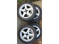 15 inch Alloy wheels 4x100 corsa Vauxhall