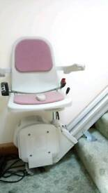 Acorn stair lift with remote control