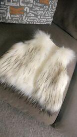 Fur gilet, 1-2 years